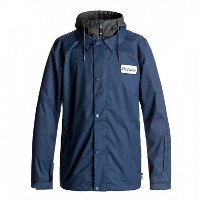 DC Cash Only Jacket 2018 Mens in Insignia Blue