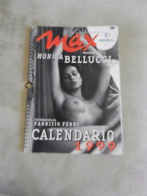 Il calendario di MAX 1999  monica BELLUCCI
