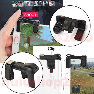 L1R1 Shooter Controller Smartphone Mobile Gaming Trigger Fire Button Handle HH