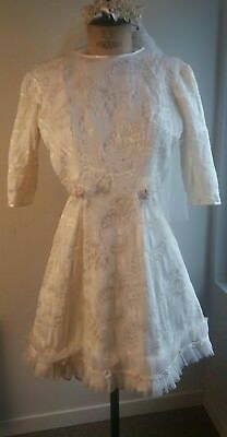 robe mariée ancienne collection dentelle wedding dress  lace