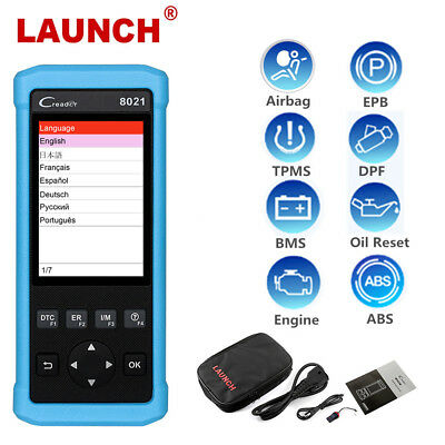 Launch Creader OBD2 Scanner ABS SRS Oil EPB BMS TPMS DPF Diagnostic Scan Tools
