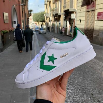 converse pro leather uomo nere