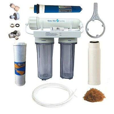 Water Filters Reverse Osmosis RO DI | Marine Aquarium RODI Fish Filter PRO-3-DJ