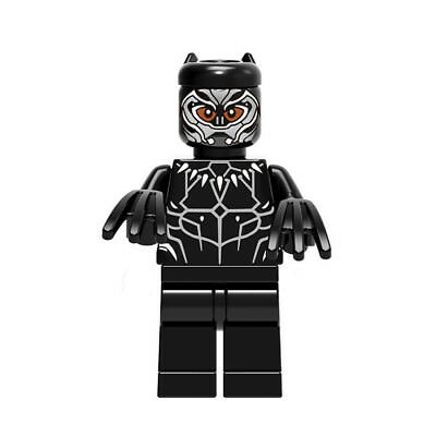 Unique  T'Challa Wakanda Avengers Action Figure Toy of ABS Craft