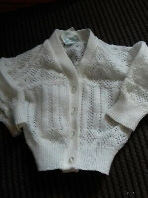 Vintage 1980s cardigan baby girl 12 months
