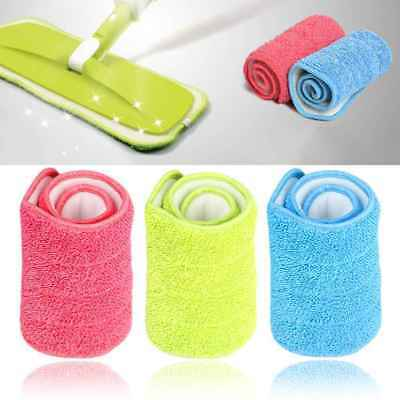 Microfiber Mop Pad Spray Mop Mat Replacement Head Mop Cloth Cleaning Pads