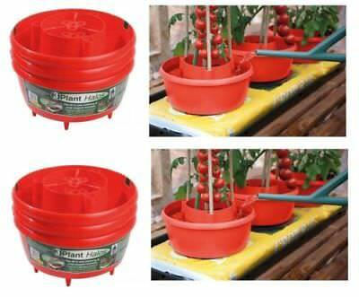 Garland Plant Halos Crop Support Watering Tubs  6 X All In 1 For Grow Bags Red