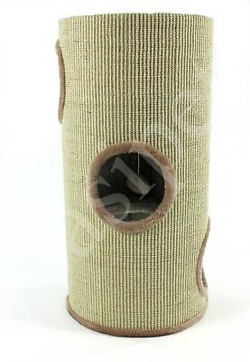 Cat Kitten Scratching Barrel 70cm Scratcher Post Tree Activity Centre Tower Den
