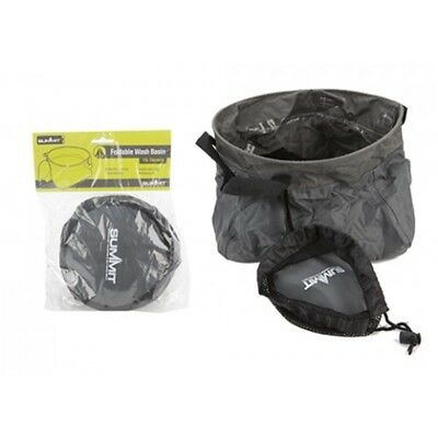 Foldable Wash Basin In Carry Bag - Bowl Summit Camping