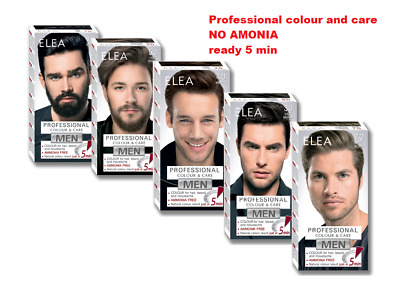 For Men Colour Dye cream hair Moustache and Beard 100 ml natural color in 5 min.