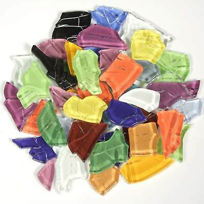 Glasmosaiksteine Crash Glas bunt mix; 200g - Forum Traiani