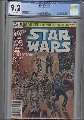 Star Wars #50 CGC 9.2 1981  Marvel  Comic: Double Issue: New Frame