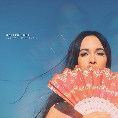 Kacey Musgraves GOLDEN HOUR +MP3s GATEFOLD New Sealed Clear Vinyl Record LP