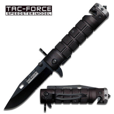 Tac Force Spring Assisted Folding Rescue Knife - FREE SHIPPING! - TF636GBY