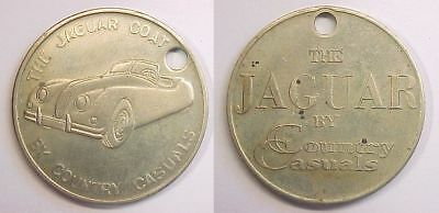 The Jaguar Coat by Country Casuals Key Tag