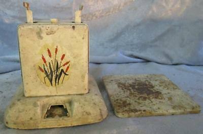 Vintage Nursery Scale 24lbs Max w/o Tray Mid-Century Off-White Cat Tails label