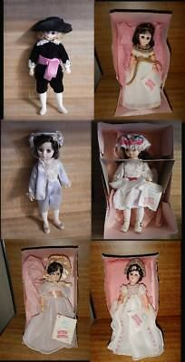 Lot of 6 Vintage 1970's Madame Alexander Dolls  Boxed New with Tags