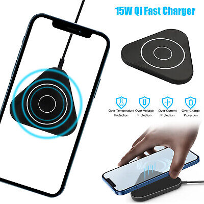 10W Qi Fast Wireless Charger Car Charger Cup Holder For iPhone X 8 Samsung S9 S8