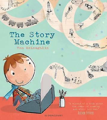 The Story Machine by McLaughlin, Tom   Paperback Book   9781408839348   NEW