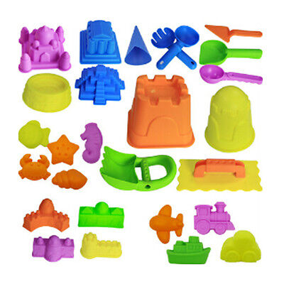20pcs Moon Sand and All Other Molding Play Sand Children Baby Education Toy AU