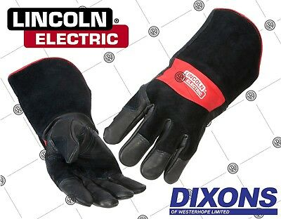 Lincoln Electric Premium Leather MIG Stick MMA Welding Welders Gauntlet Gloves
