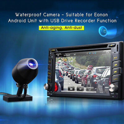 UK USB Waterproof Camera for Eonon Android Car GPS DVR Dash Cam Video Recorder