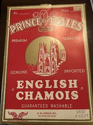 S.M. Arnold EA57 Prince of Wales Chamois - 4 Sq Feet