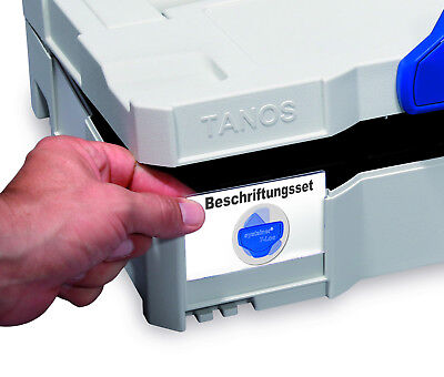 Beschriftungs Set Systainer T-Loc SYS TL 1 2 3 4 5 TANOS FESTOOL BTI BERA CLIC+
