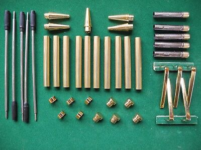 Woodturning Pen Kits - SLIMLINE 7mm