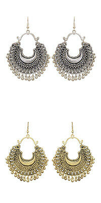 Jwellmart Indian Bollywood Oxidized Dangle Afghani Style Earrings Free Shipping