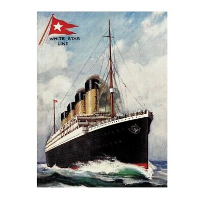 A4 TITANIC PHOTO PRINT FOR 99P THE FINAL RESTING PLACE
