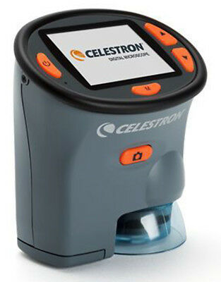 Celestron Digital Hand-Held Microscope With LCD Screen #44310 (UK Stock) BNIB