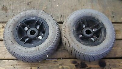 Early Pride gogo ultra mobility scooter parts rear wheels and tyres