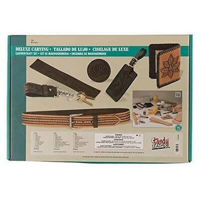 Tandy Leather Deluxe Carving Leathercraft Set 55402-00