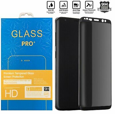 Privacy Tempered Glass Screen Protector For Samsung Galaxy S8 S9 Plus Note 8