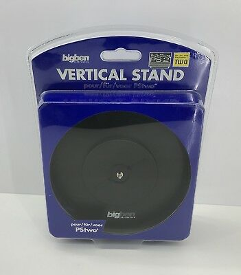 Playstation 2 - Slim Vertical Console Stand - PS2 Vertical Stand - bigben