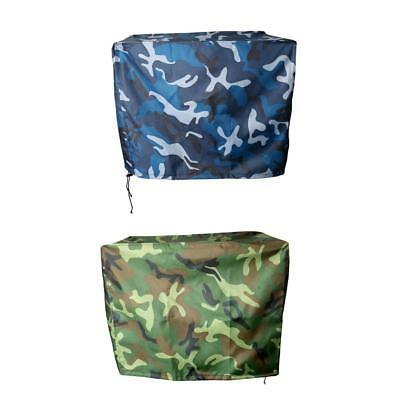 Waterproof Vented Outboard Motor Boat Cover Camouflage for 2-300 HP Engines