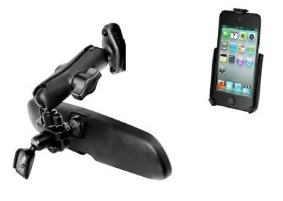 Car Vehicle Rear View Mirror Mount Holder for Apple iPod touch 4th Generation