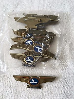 Lot of 10 SEALED! VINTAGE EASTERN AIRLINES JR PILOT WING PINS