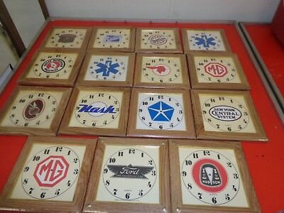 Automobile Other Clock Face Lot Of 15