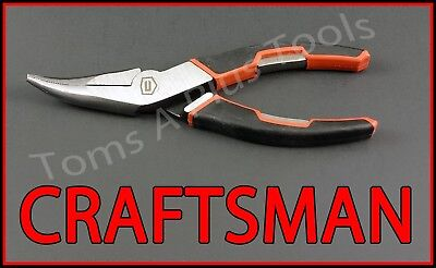 "CRAFTSMAN HAND TOOLS 6"" Bent Long Nose "" Bent Needle Nose "" pliers"