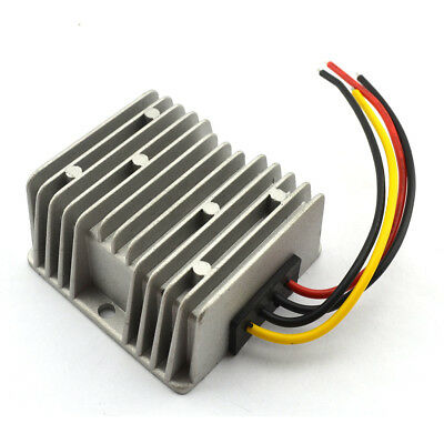 DC-DC Volt Converter 12V/24V Step Down to 5V 10A 50W Car Supply Module - Silver