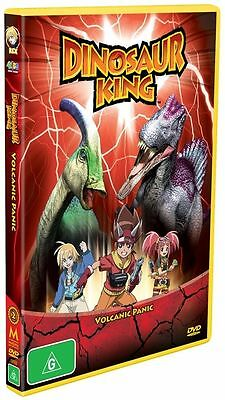 D2 BRAND NEW SEALED Dinosaur King - Volcanic Panic : Vol 2 (DVD, 2009)