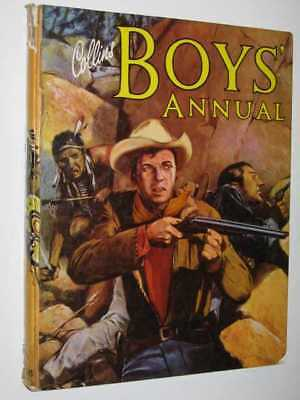 Collins Boys'Annual - 1961 Hardcover Collins