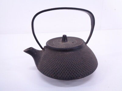 3517905: Japanese Tea Ceremony / Iron Kettle Nanbu Tekki Tetsubin / Artisan Work