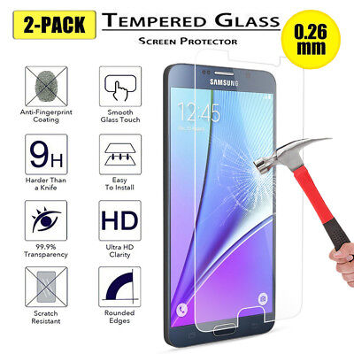For Samsung Galaxy Note 5 9H Premium Real Tempered Glass Screen Protector Film