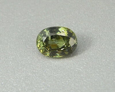 Sphen  grün 2,22 ct Titanit  Sphene green Titanite   koxgems