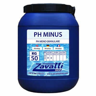 Ph Minor granulado para piscina - 50 Kg