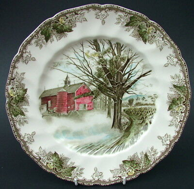 Johnson Brothers Friendly Village Lg Size Dinner Plate 27cm Autumn Mists in VGC