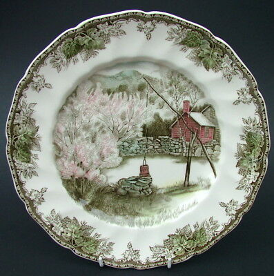 Johnson Brothers Friendly Village Lg Size Dinner Plate 27cm The Well - in VGC